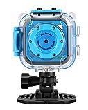 Kinder Kamera,GAKOV GACD WiFi 1280P 2MP Unterwasser Kinderkamera 20m Wasserdicht Sportkamera für Kinder -