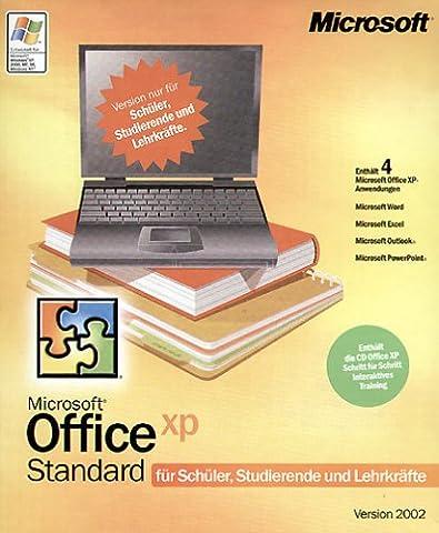 Microsoft SSL Office XP Standard -- nur für Schüler, Studenten und Lehrer