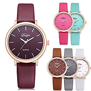 Cramberdy Herren Uhren Damen Uhr Mode Klassisch Unisex Damenuhren Herrenuhren Analog Quarz Armbanduhren FüR MäNner Frauen
