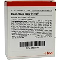 Bronchus suis Injeel Ampullen 10 stk preisvergleich bei billige-tabletten.eu