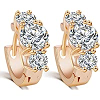 SaySure - Luxury Gold / Sliver Plated Crystal Zircon
