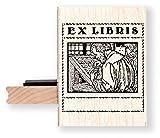 /BR052H Ex libris Bookplate timbri in gomma/