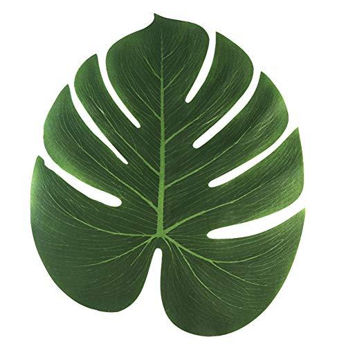 cial Palmblätter Tischläufer Für Hochzeit Hawaiian Luau Sommer-Thema-Party Supplies Tischdekoration Mit Aufkleber ()