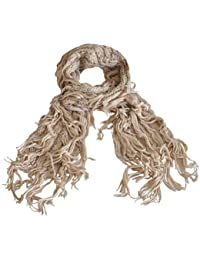 Toutacoo, Twine Coloured Scarf with XXL Tassels