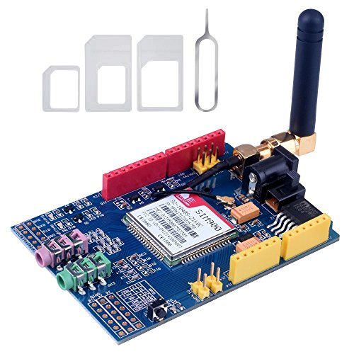 Amazon.co.uk - SIM900 Quad-Band GPRS/GSM Shield Development Board for Arduino