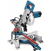 Bosch Profesional Ingletadora telescópica GCM 800 SJ (potencia: 1400 W, diámetro del disco de sierra: 216 mm)
