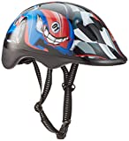 KIDS CHILDRENS BOYS GIRLS CYCLE SAFETY HELMET BIKE BICYCLE SKATING 49-56cm (rally)