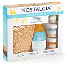 Nostalgia KPK400 Popping Corn, Oil & 3-Seasonings Theater Popcorn Kit by Nostalgia Electrics