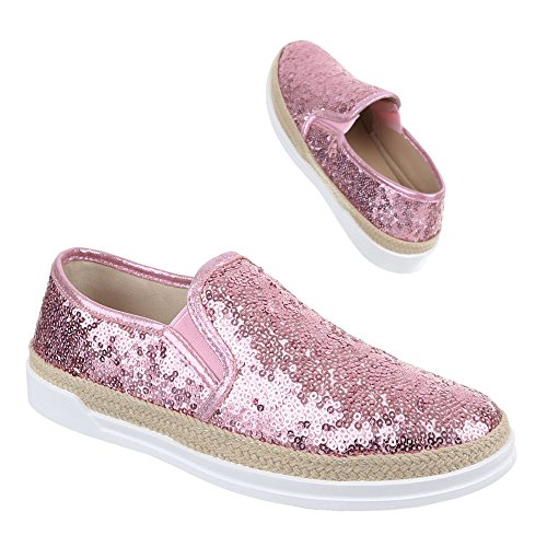 Ital-design - Chaussons Femme Rose
