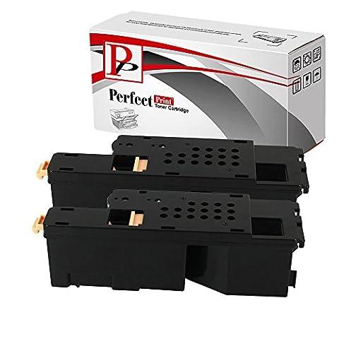 2Compatible Magenta Cartouches de Toner pour Imprimante Dell 1250C 1350cnw 1355cn 1355cnw C1760C1760nw C1765C1765nfw