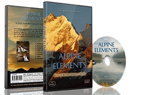 Natur DVD - Alpine Elemente mit Landschaften und Bergen und den Klängen der Natur im Hintergrund