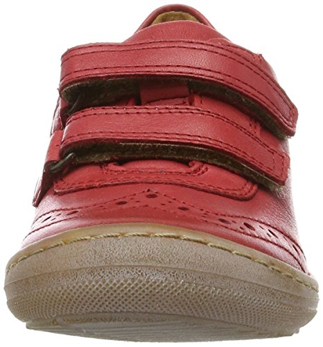 FRODDO Froddo Girls Shoe G3130096-3, chaussons d'intérieur fille Rot (Red)