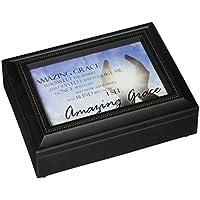 Preisvergleich für Carson Home Accents 17991Amazing Grace Rechteck Musik Box, 20,3cm von 6von 2–3/4-Zoll