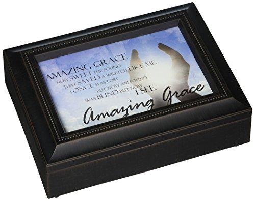 17991Amazing Grace Rechteck Musik Box, 20,3cm von 6von 2–3/4-Zoll (Treasure Box Spielzeug)