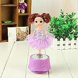 Sun Hero Puppe Spieluhr Hochzeit Prinzessin Spins mit Musik Braut Puppe Valentinstag Geschenke...