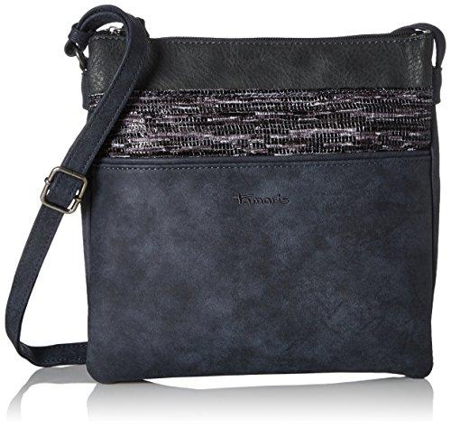 Tamaris - Khema Crossbody Bag, Borse a tracolla Donna Blu (Navy Comb.)