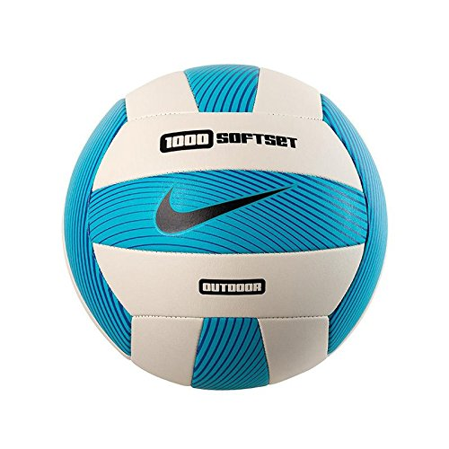 Nike Softset Outdoor Volleyball Deflated Gamma Blue/White/Hyper Cobalt/Black, One Size