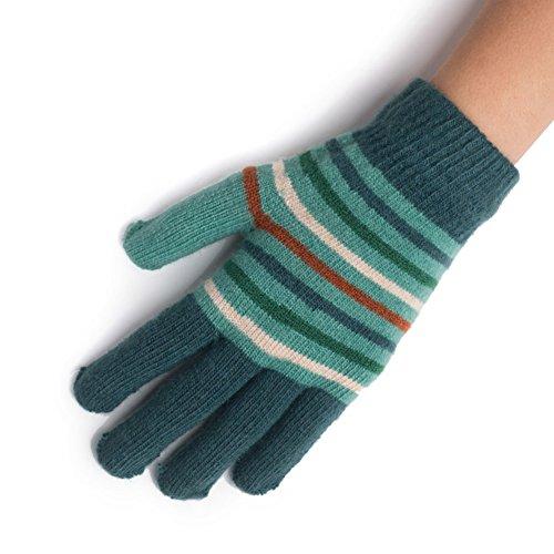 Gants thermiques du féminin/ laine tricot gants/Blouson rayé C