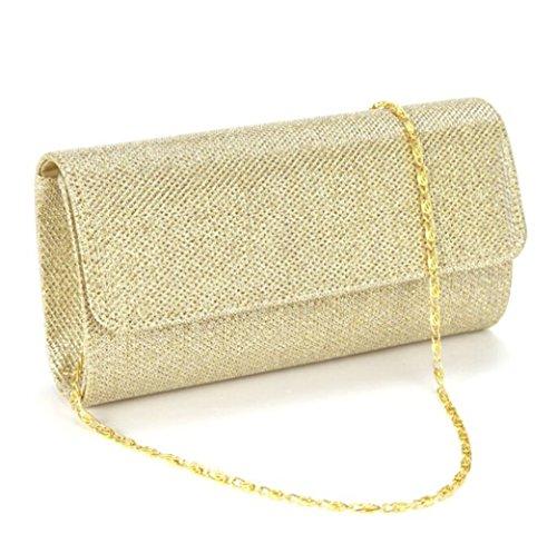 Clorislove-Glitter-Damen-Tasche-Handtasche-Party-Clutch-Bag-Hochzeit-Abendtasche-Kettentasche