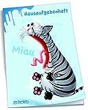 """Hausaufgabenheft für Schlaue """"Miau"""" / DIN A5"""