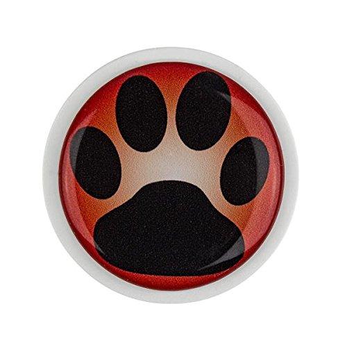 Pinnwand Magnet MG0112W Hunde Pfoten groß und stark haftend Magnete für Kühlschrank Whiteboard Kinder Kinderzimmer Büro Haushalt Küche Dekoration (Hund Kühlschrank Magnet)