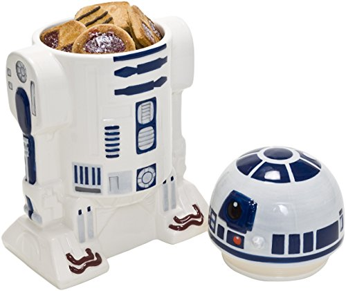 Joy toy-r2d2 star wars contenitore con coperchio, multicolore, 15.00x10.00x26.00 cm, 21679