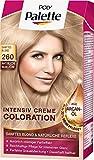 Poly Palette Intensiv Creme Coloration, 260 sanftes blond stufe 3, 3er Pack (3 x 1 Stück)