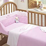 Tweet Dreams 3pc Cot Bed Bale - Quilt, Bumper, Fitted Sheet