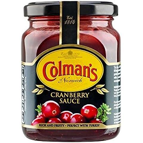 Colman's Salsa De Arándanos (265g) (Paquete de 2)