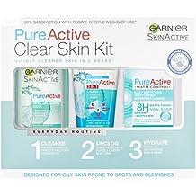 Garnier Pure Active Anti Blemish Skin Care Regime Kit