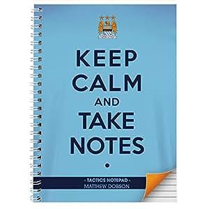 Manchester City Keep Calm A5-16 Blatt Dies ist ein tolles Produkt, die nach Ihren Bedürfnissen personalisiert (Bitte details main discription für Geschenke und Präsente), Ideal für Hochzeiten, Taufen, Geburtstagen, Weihnachten etc...
