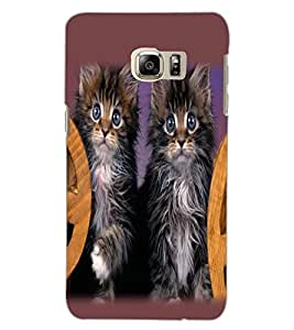 SAMSUNG GALAXY NOTE 5 EDGE CATS Back Cover by PRINTSWAG