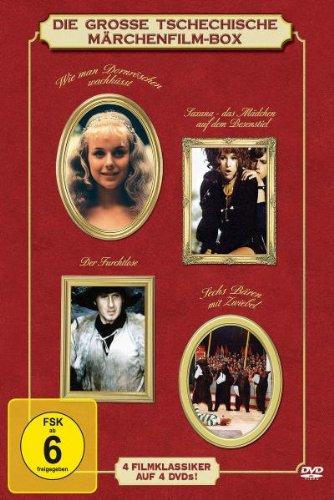Die große tschechische Märchenfilm-Box (4 DVDs)