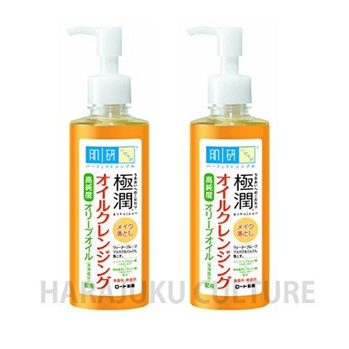 Rohto HADALABO Gokujun Cleansing Oil - 200ml -2pcs