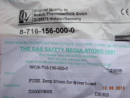 Preisvergleich Produktbild Worcester CDI Greenstar RI & Junior Langsam Schlag PCB Sicherung 87161560000
