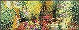 wash+dry Primavera Fußmatte Acryl bunt 75 x 190 x 0.7 cm