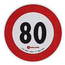 Lampa 98442 Contrassegno Limite velocità - 80 Km/h