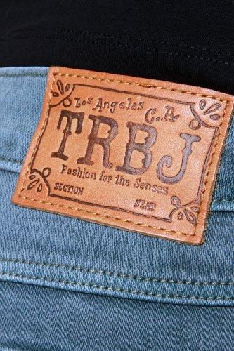 True Religion Damen Jeans Boot Cut BECKY LONESTAR TRADIT Wash PX SLATE BLUE Petrol