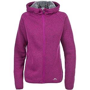 51MPttb jWL. SS300  - Trespass Women's Valeo Full Zip Fleece Hoodie