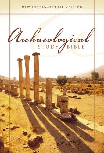 Niv Archaeological Study Bible Personal Size An Illustrated Walk Through Biblical History And Culture