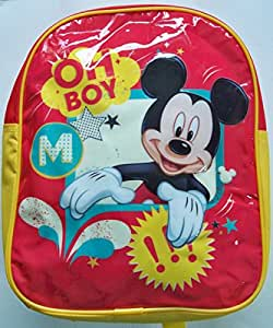 DISNEY MICKEY MOUSE JUNIOR BACKPACK - RED