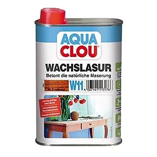 Clou Wachslasur W11 rotbraun 0,250 L