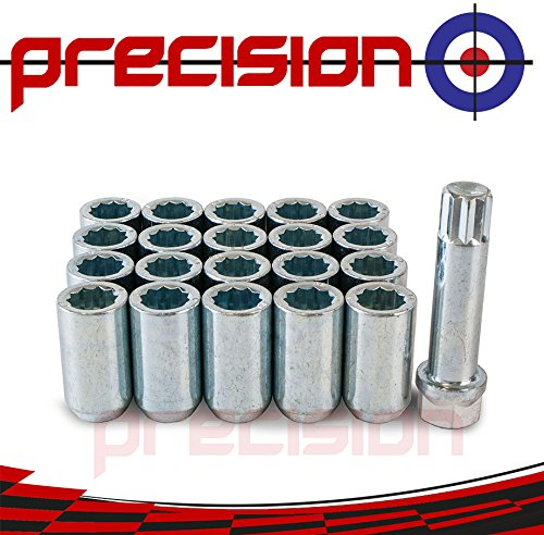 Precision 20 x Slim Fit Tuner Alloy Wheel Nuts for, used for sale  Delivered anywhere in UK