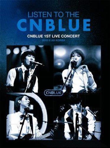 LISTEN TO THE CNBLUE CNBLUE 1ST LIVE CONCERT 2010 @ AX-KOREA-Korea Version [2DVD+photobook] (Cnblue Dvd)
