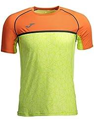 Joma Olimpia Flash Camisetas, Hombre, Amarillo, M