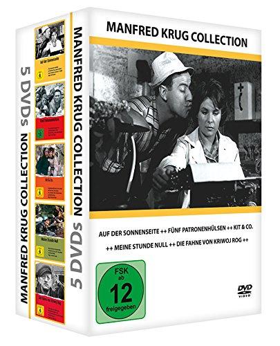 Manfred Krug Collection (5er-Schuber: Auf der Sonnenseite - Kit&co - Fünf Patronenhülsen - Die Fahne von Kriwoj Rog - Meine Stunde null) [5 DVDs]