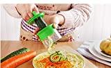 Vegetable Fruit Spiral Slicer Carrot Cucumber Grater Spiral Blade Cutter Salad Tools Zucchini