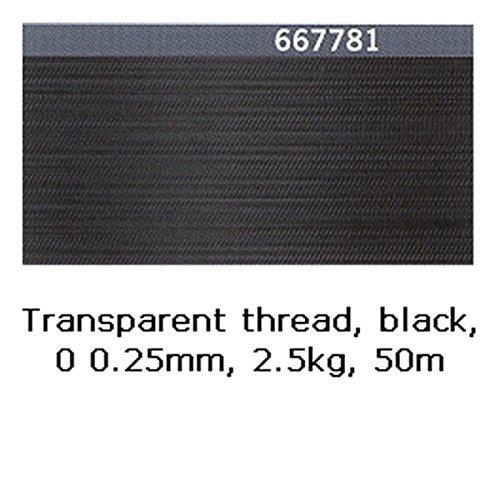 Gütermann Transparentfaden 2,5 kg 0,25 mm schwarz 50 m