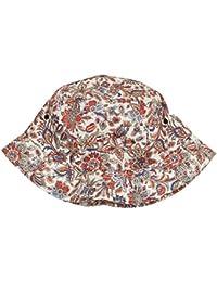 Flexfit Flower Pattern Bucket Hat Tapa, Beige, One Size