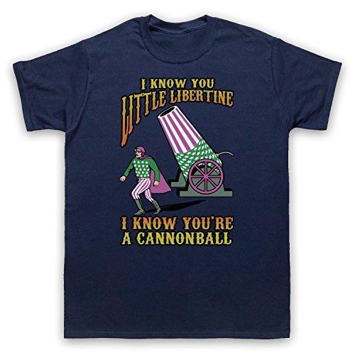 Inspiriert durch Breeders Cannonball Unofficial Herren T-Shirt Ultramarinblau